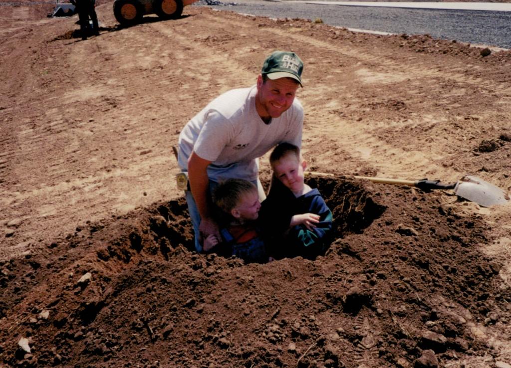 Jimmy Marty Jake Sept 2001