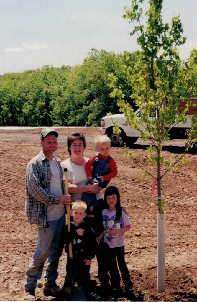 Tanner Family Sept 2001